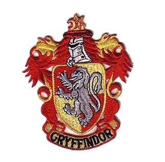 Gryffindor patch