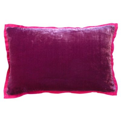 Accent pillow back
