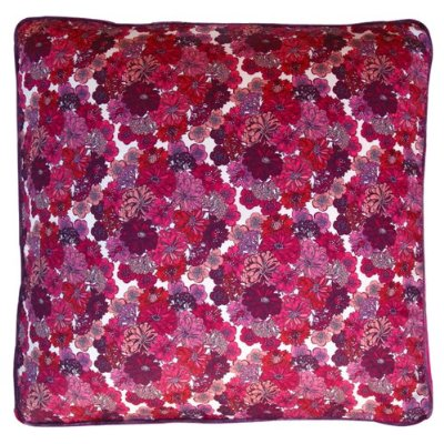 Fuschia pillow back